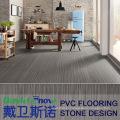 "6"" X 36"" Stone Effect Luxury Plastic Click Vinyl PVC Flooring"