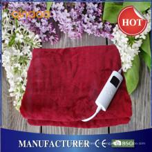 Nouvelle conception en flanelle électrique sur couverture avec approbation CE