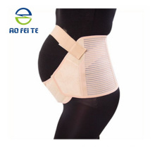 Maternity Support Belt Double Support Soft Cotton front Seamless High Back