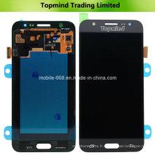Nouvel affichage pour l'affichage d'affichage à cristaux liquides de Samsung Galaxy J5 J500 avec l'écran tactile