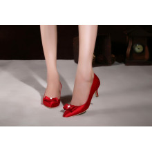 New Style Fashion High Heel Ladies Dress Wedding Shoes (HCY02-1871)