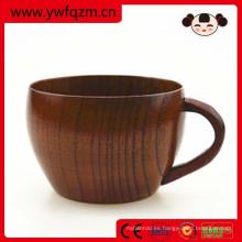 Taza y platillo de té de madera del fabricante directo de fábrica para la venta