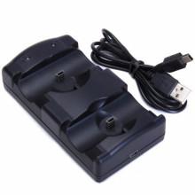 support rechargeable de dock de chargeur de mouvement pour le support de contrôleur de ps3games