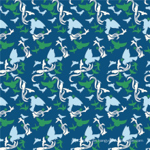 Tela de seda de la impresión de Digitaces de la buena calidad de la moda (XF-0014)