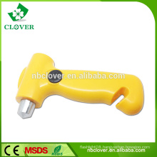New style crank flashlight with bus emergency life hammer