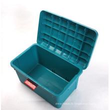 Boîte de rangement en plastique de différentes tailles pour coffre de voiture