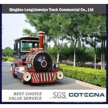 A produção chinesa Popular e quente Diesel turístico trem