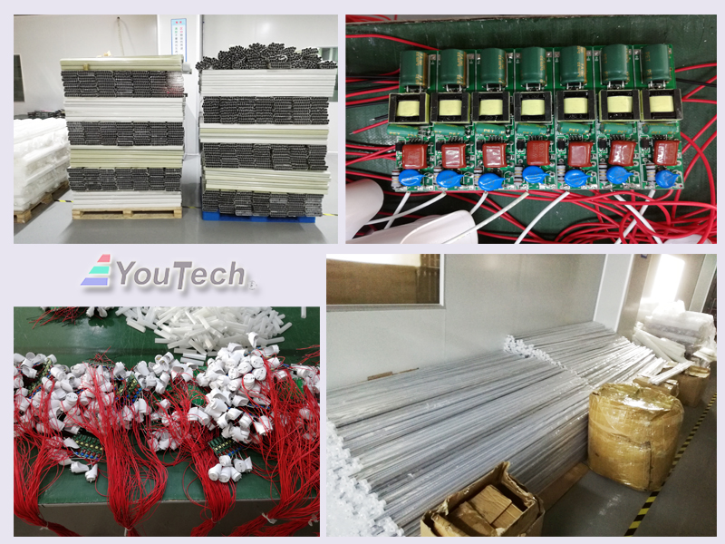 LED T8 2400mm 40W production