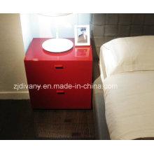 Muebles de dormitorio moderno Europeo de madera sólida (SM-B25)