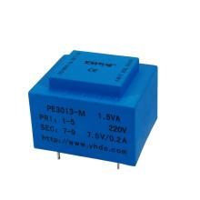 pcb mount encapsulated AC transformer