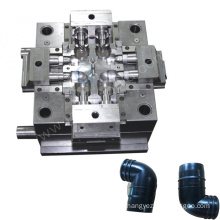 shenzhen injection molding maker product design pipe bender mould pvc plastic pipe fitting making mold