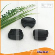 Tapón o toggle de nylon del cordón para las prendas de vestir, los bolsos y los zapatos KS3063 #