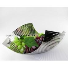 Plato de fruta de acero inoxidable (SE2655)
