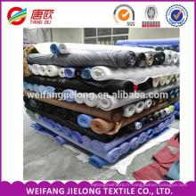 Tissu de popeline de tc, tissu de poche de TC pour la doublure en stocks Tissu de popeline de cottondyed 100% en gros pour la chemise