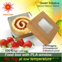 Fast-Food-Box-Verpackung mit Antibeschlagsfenster (K85)