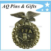 3D Ffa recuerdo de la insignia del metal con la insignia antigua (badge-006)