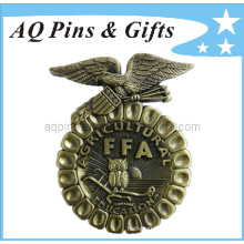 3D Ffa Metal Badge Souvenir with Antique Badge (badge-006)