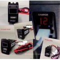 USB Port Charger 12V Gsp iPhone + Voltmeter for Honda Toyota Cars