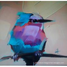 Bird Painting on Canvas