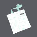 Bolsas de compras em lona com padrão de pintura abstrata personalizada