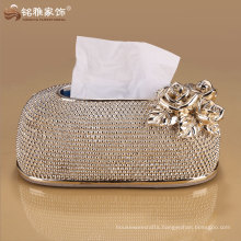 polyresin material high quality new tissue paper box design for home decor