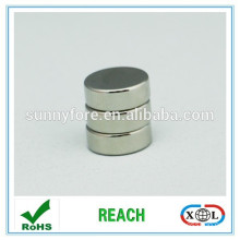 N35 diametrically magnetized disc magnets