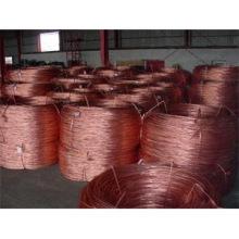 Fil de cuivre rouge, fil de cuivre pur, faible prix du marché