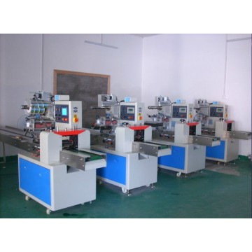 Automatic hot-selling pillow moon-cake packaging machine