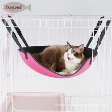 Hot sale Oval Cat Hammock Bed Plastic Slider For Size Adjustable Elevated Pet Bed
