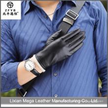 2016 Nouveaux gants en cuir véritable pour hommes