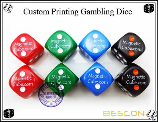 Custom Printing Gambling Dice
