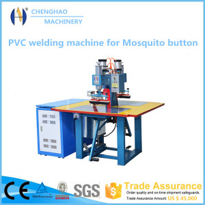 Plastic Anti Mosquitoes Button Welding Machine
