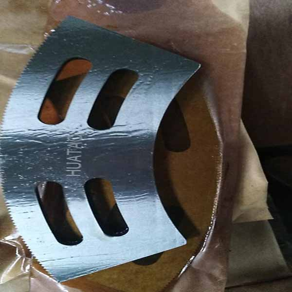 Arc Shaped Upper And Lower Slotter Knives Hua Tao