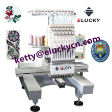 New Type multi function Single head computerized embroidery machine for sale