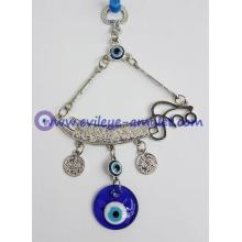 Turkish evil eye pendant sword feng shui home decoration