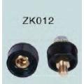 Venta caliente Negro Conector de soldadura ZK012 macho / hembra