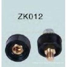 Vente chaude Connecteur de soudage Black Cable ZK012 Homme / Femme
