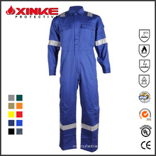 oil field fire retardant aramid coveralls for fireman