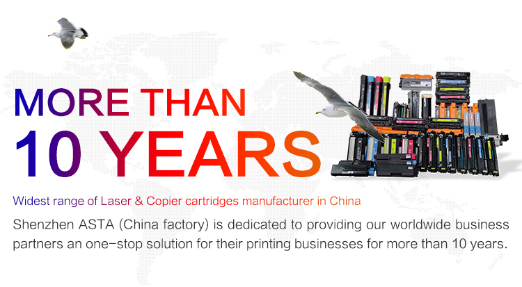 ASTA toner cartridge10 year factory