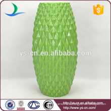 Grüne chinesische Keramik Vase für Großhändler