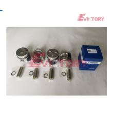 Motor de escavadeira PERKINS 404C kit de pistão