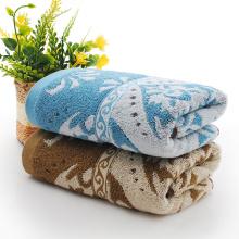 Blumenmuster-Garn gefärbte Handtücher