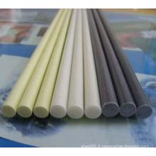Tige différente de PVC colorée anti-corrosive
