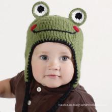 El sombrero de la gorrita tejida de los niños del príncipe de la rana (XT-CB001)