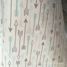 100% algodón franela impreso para pijamas