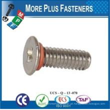 Feito em Taiwan Socket Cap Screw Self Sealing Pan Head Phillips Machine Screw