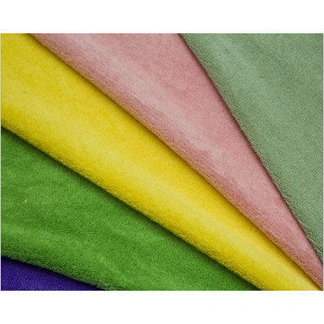 100% Polyester Solid Coral Fleece Fabric