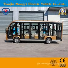 China Zhongyi 14 Seats Sightseeing Classic Shuttle Intelligent Pulse Charger Intelligent Pulse Charger Sightseeing Car