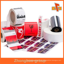 Guangzhou Hersteller Großhandel Druck-und Verpackungsmaterial benutzerdefinierte bedruckbare Kleber Metall Möbel Etikett