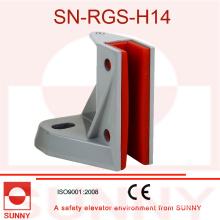 Ajustement pour 5, 10, rail de guide de 16mm, glissant la chaussure de guide (SN-SGS-H14)
